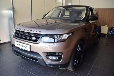 Land Rover Range Rover Sport 3,0 SDV6 HSE Dynamic bei Auto Mustermann in Ihre Fahrzeugfamilie